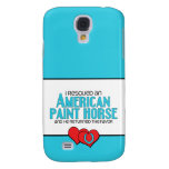 I Rescued an American Paint Horse (Male Horse) Samsung Galaxy S4 Case
