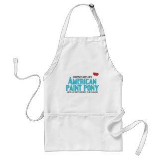 I Rescued an American Paint Pony (Male Pony) Aprons