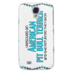 I Rescued an American Pit Bull Terrier (Female) Samsung Galaxy S4 Cases