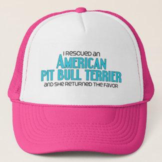 I Rescued an American Pit Bull Terrier (Female) Trucker Hat