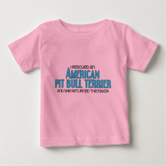 I Rescued an American Pit Bull Terrier (Female) T-shirts
