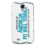 I Rescued an American Pit Bull Terrier (Male Dog) Samsung Galaxy S4 Case