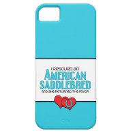 I Rescued an American Saddlebred (Female Horse) iPhone 5 Covers