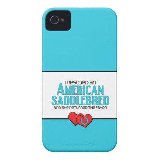 I Rescued an American Saddlebred (Female Horse) iPhone 4 Cases