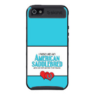I Rescued an American Saddlebred (Male Horse) iPhone 5 Cases