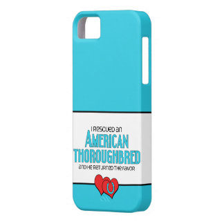 I Rescued an American Thoroughbred (Male Horse) iPhone SE/5/5s Case
