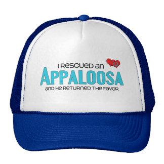 I Rescued an Appaloosa (Male Horse) Trucker Hat