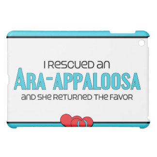 I Rescued an Ara-Appaloosa (Female Horse) Cover For The iPad Mini
