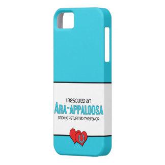 I Rescued an Ara-Appaloosa (Male Horse) iPhone SE/5/5s Case