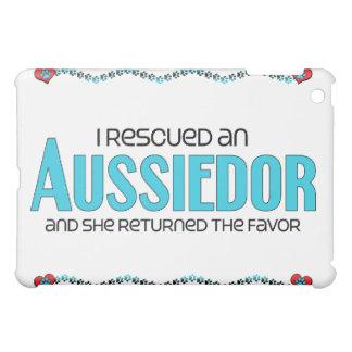 I Rescued an Aussiedor (Female) Dog Adoption iPad Mini Case