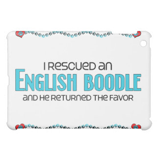 I Rescued an English Boodle (Male) Dog Adoption Cover For The iPad Mini