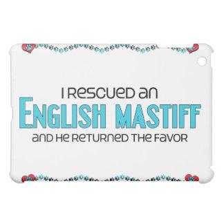 I Rescued an English Mastiff (Male Dog) iPad Mini Cases