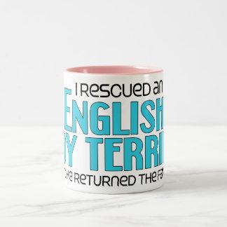 I Rescued an English Toy Terrier (Male Dog) Coffee Mug