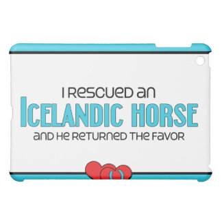 I Rescued an Icelandic Horse Male Horse Case For The iPad Mini