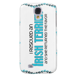 I Rescued an Irish Terrier (Female Dog) Galaxy S4 Cases