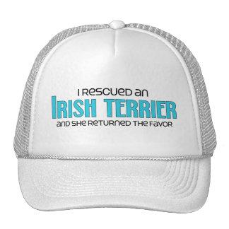 I Rescued an Irish Terrier (Female Dog) Trucker Hat