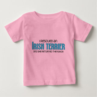 I Rescued an Irish Terrier (Female Dog) T-shirts