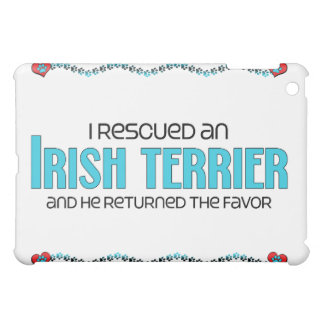 I Rescued an Irish Terrier (Male Dog) iPad Mini Case
