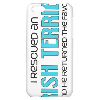 I Rescued an Irish Terrier (Male Dog) Cover For iPhone 5C