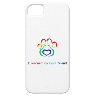 I Rescued My Best Friend Dog iPhone 5/5S Case