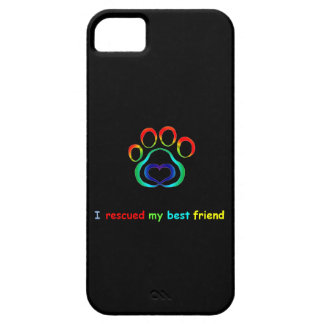 I Rescued My Best Friend Dog iPhone 6 Case
