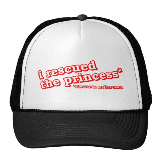 I Rescued The Princess - Gamer Gaming Video Game Trucker Hat