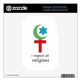 i respect all religions.png skin for iPhone 3GS
