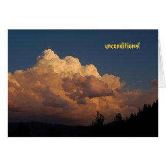 I Respect You Unconditionally Greeting Card