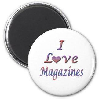 I revistas del corazón amor imán de frigorifico
