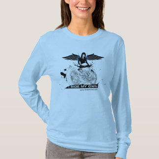 I Ride My Own - Blue T-Shirt