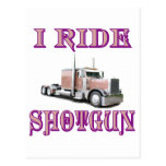 I Ride Shotgun Postcards