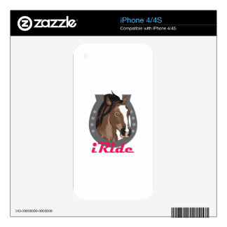 I RIDE SKIN FOR iPhone 4