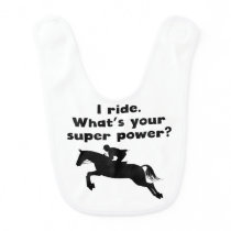 I Ride Super Power Bib