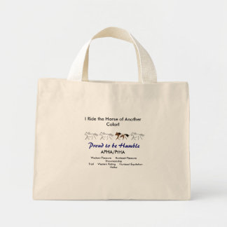 I Ride the Horse of Another Color! Tote Bag