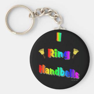 I Ring Handbells Keychain