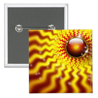I RISE WITH THE SUN 2 INCH SQUARE BUTTON