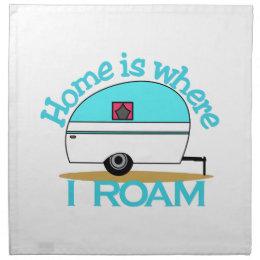 I Roam Cloth Napkin