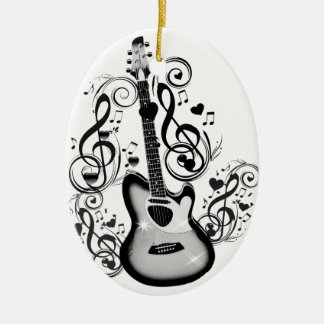 I Rock #5_ Ceramic Ornament