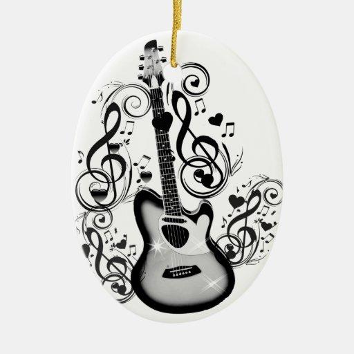 I Rock #5_ Ceramic Ornament