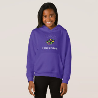 I ROCK AT Personalized Hoodie