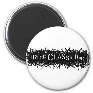 I Rock Classic Rock Magnet