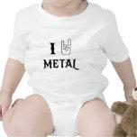 I Rock Heavy Metal T-shirts