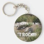 I Rock Keychain Keychain