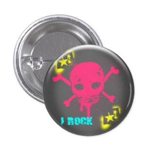 I Rock Pinback Button