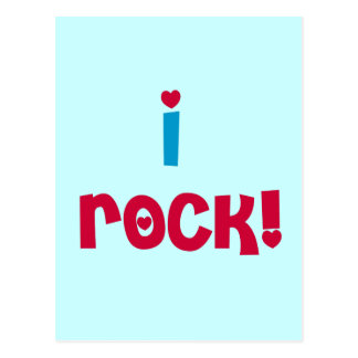 I Rock T-shirts and Gifts Postcard
