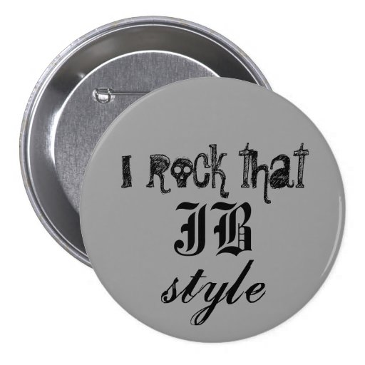 I rock that JB style Button