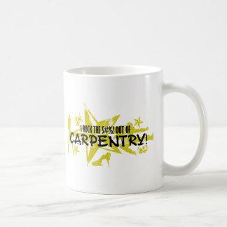 I ROCK THE S#%! - CARPENTRY COFFEE MUG