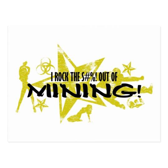 I ROCK THE S#%! - MINING POSTCARD