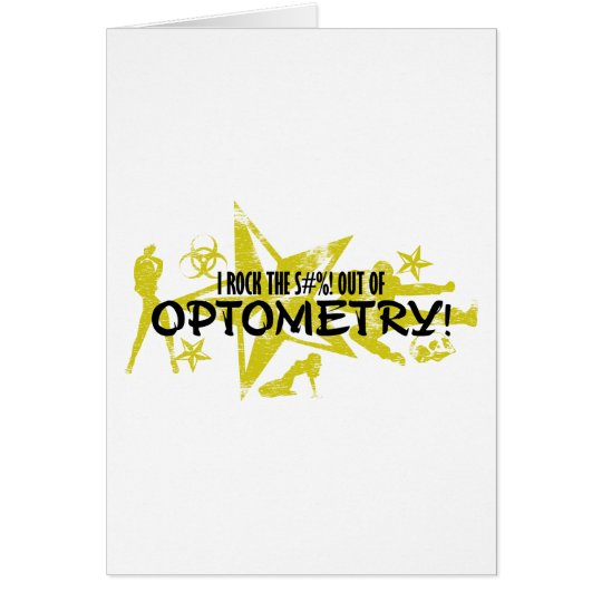 I ROCK THE S#%! - OPTOMETRY CARD