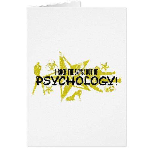 I ROCK THE S#%! - PSYCHOLOGY CARD